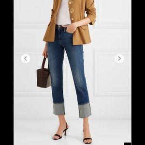 Frame Le High Big Cuff High Rise Jeans